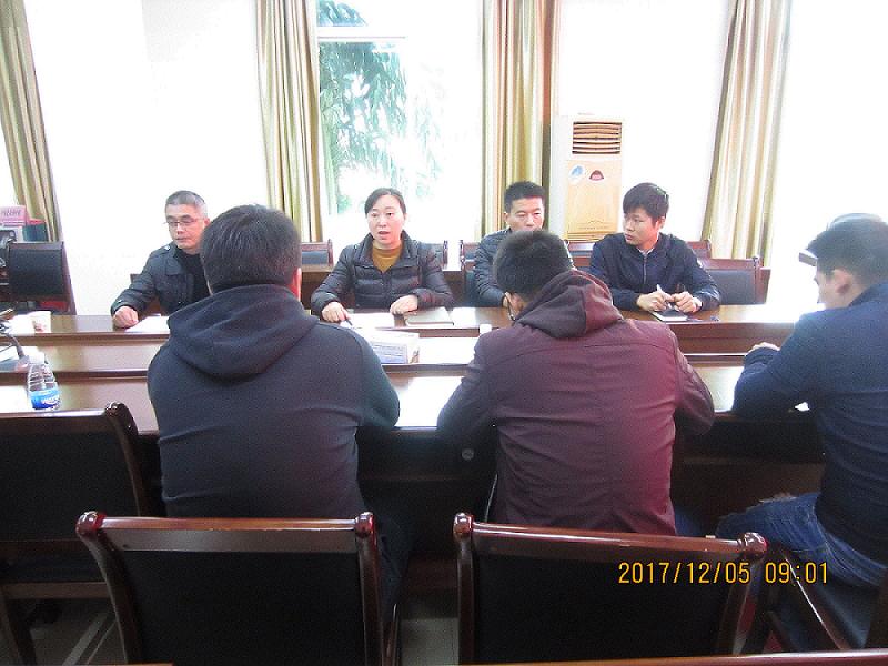 贺州市规划局召开建设项目规划验线约谈会