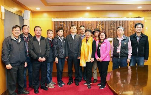 李宏庆会见台湾康养旅游踩线考察团