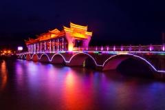璀璨风雨桥