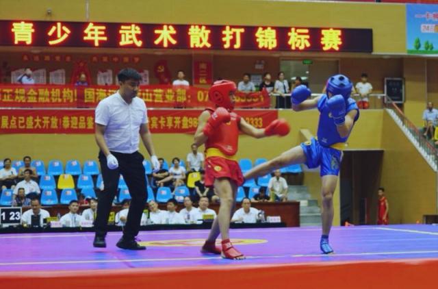 2018年广西青少年武术散打锦标赛