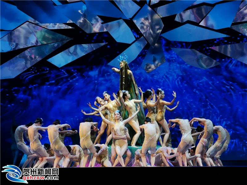 大型原创民族舞剧《花界人间》在我市首演