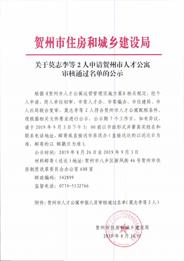 关于莫志李等2人申请贺州市人才公寓审核通过名单的公示_页面_1.jpg
